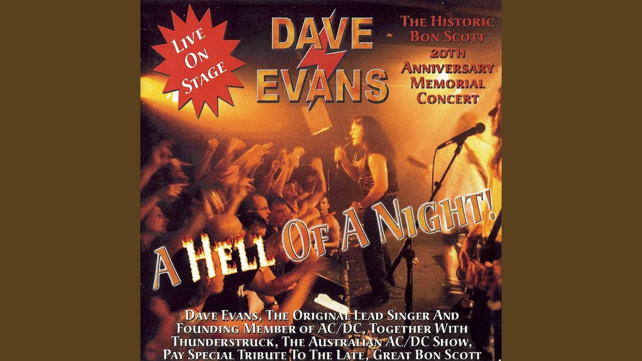 a Hell of Night Dave Evans